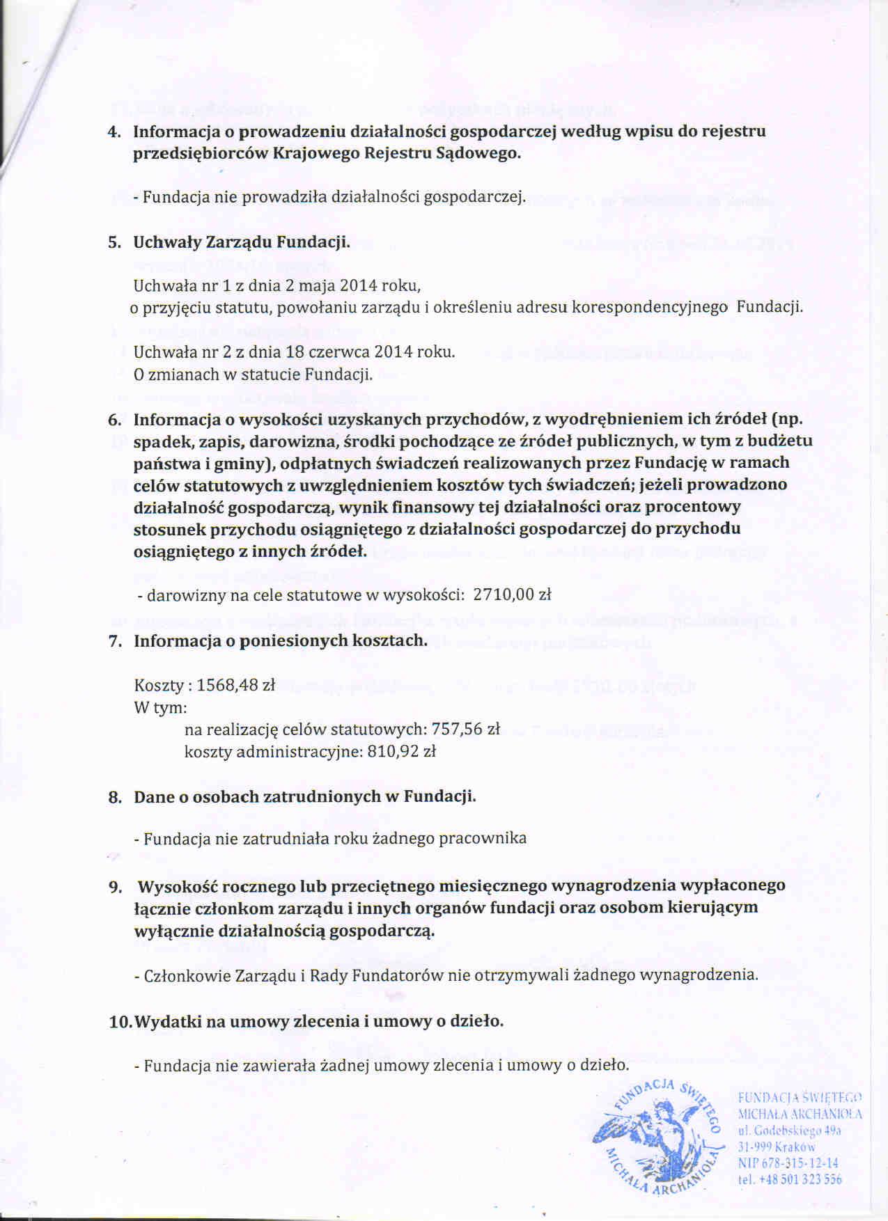 sprawozdanie 20141
